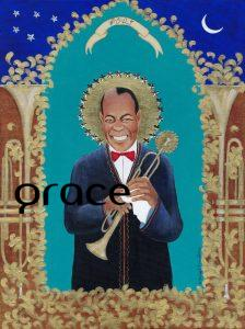 Pops fine art limited edition print, part of my collection of iconic New Orleans musicians