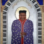 "Fats Domino, Titled as ""Early Sainthood"", The Gospel According to New Orleans"", my collection of iconic New Orleans musicians, LIMITED EDITION PRINTS"