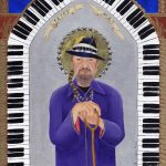 """Dr. John- """"The Gospel According to New Orleans"""", my collection of iconic New Orleans musicians, commemorates their role in the evolution of the eccentric culture and music traditions of New Orleans. Fine art limited edition print"""