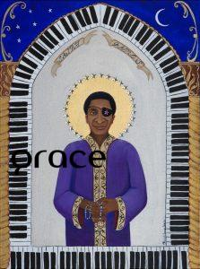 Saint James limited edition print, James Carroll Booker III.