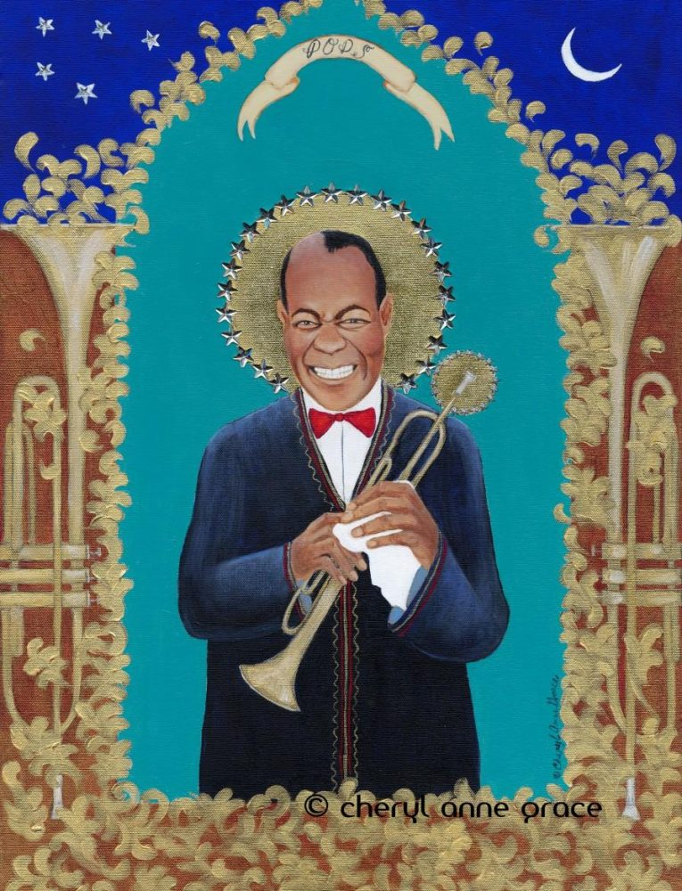 Pops Louis Armstrong 18x24
