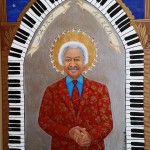 """Allen Toussaint """"The Gospel According to New Orleans"""", my collection of iconic New Orleans musicians, LIMITED EDITION PRINTS"""